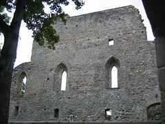 Ruins in Gauja National Park