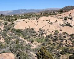 014 The Main Path Through The Rocks (saschmitz_earthlink_net) Tags: california rocks trail orienteering rockformation aguadulce vasquezrocks losangelescounty 2015 laoc losangelesorienteeringclub