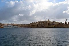 Malta (162) (Umbe alias UmbertinoRulez) Tags: blue winter sea sky italy food cloud sun fish yellow canon island happy eos mercedes la boat friend nuvole mare wind cloudy low pussy cost samsung malta note porto