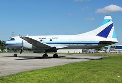 N41527 Miami Air Lease Convair CV440 Opa Locka 19/10/2014 (Tu154Dave) Tags: florida miami opa convair cv440 opalocka n41527 airlease