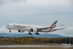Emirates - A6-ECV - B777-300ER (Aviation & Maritime) Tags: a6ecv emirates boeing b777 b777300er boeing777 boeing777300er osl engm osloairportgardermoen oslolufthavngardermoen osloairport gardermoen norway