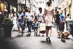 IMGP3521d (maurizio siani) Tags: street summer italy woman dog dogs cane shopping donna store strada italia estate gente ponte via persone napoli naples bellezza ragazza cani capelli luglio passeggio dietro 2016 negozi camminare napoletana napoletano eleganza guinzaglio passeggiare chiaia spalle cammina vestitino comprare raccolti