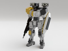 Ranger (KANICHUGA) Tags: lego mecha mech moc military