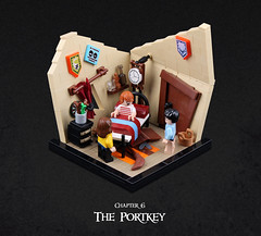 Harry Potter and the Goblet of Fire 02 (Xenomurphy) Tags: lego moc bricks harrypotter gobletoffire rowling muggle magic weasley hermione malfoy voldemort hogwarts hogsmeade slytherin hufflepuff gryffindor ravenclaw quidditch