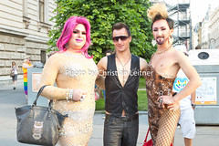 RBP 16 (Christian Leitner) Tags: pictures vienna wien street gay costumes party 3 public girl rain leather festival sex canon lesbian nude fun this austria movement day photos pics mark iii christopher pride parade ring transgender demonstration fotos bow latex 5d gaypride queer umzug mk csd ringstrasse rathausplatz 2016 kostm christopherstreetday verkleidung regenbogenparade hosi rbp bodypaining csday vereinhosi photographerchristianleitner way born leitnerchristianviennapride