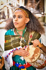 Ashenda Girl (Rod Waddington) Tags: africa african afrika afrique ethiopia ethiopian ethnic etiopia ethnicity ethiopie etiopian thiopien mekele tigray ashenda festival drum drummer traditional orthodox culture cultural portrait girl female outdoor