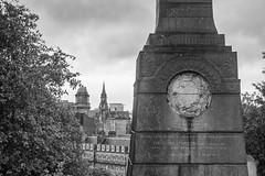 Glasgow necropolis (Catherine Sharman) Tags: monochrome mono victorian death scotland britain travel industrial necropolis history architecture gothic graveyard europe building glasgow