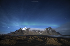Like an Angel (brunopintophotography) Tags: nightphotography angel iceland nikon aurora crown borealis vesturhorn brunopinto