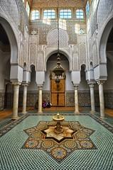 Mausoleum of Moulay Ismail,  Meknes, Morocco (ott.geoffrey) Tags: art star design pattern muslim islam morocco mausoleum islamic meknes tilework moulayismail