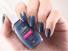 [Julho Invernal] Jeans, Colorama (beeanka.) Tags: esmalte nailpolish unhas nails colorama jeans mutedblue blue azul azulacinzentado vernis