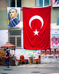 Ataturk's Birthday (Mule67) Tags: 2016ataturk turkey istanbul birthday turkish flag 5photosaday