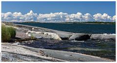 A Summer Day in the Finnish Archipelago (Mika Latokartano) Tags: finnisharchipelago water kihti nåtö summer clouds