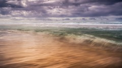 Impressionist (Augmented Reality Images (Getty Contributor)) Tags: australia beach canon landscape leefilters light longexposure pacificocean peregianbeach queensland sand seaside sunshine water waves