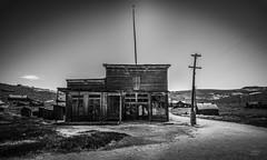 Bodie's General Store (JardinsLeeds) Tags: bodie blackandwhite noiretblanc store california deserted village nikond800e nikkor2470mm