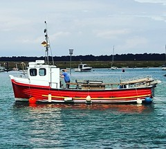 Wells Quay (a.sutton12) Tags: wells wellsnextthesea wellsquay fishingboat harbour harbor quay water sea coast capturingbritain northnorfolk norfolk sky summer norwich countryside