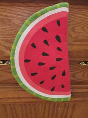 Watermelon potholder (creed_400) Tags: july summer belmont west michigan watermelon potholder
