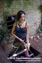 Tomb Raider Shoot with Annick 28 (berserker244) Tags: yggdrasilphotography60072016 guerrillaphotography yggdrasilphotography evandijk annick annickscosplay laracroft tombraider riseofthetombraider grebbeberg rhenen