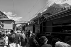 Gotthard Railway - Göschenen Anno 2016 (Kecko) Tags: 2016 kecko switzerland swiss schweiz suisse svizzera innerschweiz zentralschweiz uri gotthard göschenen bahnhof station bahn eisenbahn railway railroad gotthardbergstrecke steam locomotive dampflokomotive elefant c56 2978 swissphoto geotagged geo:lon=8588590 geo:lat=46664810
