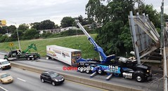 Tractor-trailer crash (dfirecop) Tags: dfirecop harrisburg pa pennsylvania accident crash wreck i83 dauphincounty