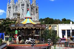 012843 - Barcelona (M.Peinado) Tags: hdr carrusel tiovivo parquedeatracciones tibidabo barcelona provinciadebarcelona catalua espaa spain 18062016 juniode2016 2016 canoneos60d canon copyright