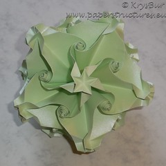 k16030a (Origami Spirals) Tags: origami paper curler twirl twirligami