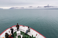 Exploration (danielfoster437) Tags: arctic oceanexploration frontofship ship hull arctictourism onaship soulsearching tourismship researchexpedition exploration expedition shipnose reseach scientificresearch shipbow