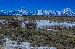 Grand Teton range--DSC00514--Jackson Hole Valley, Wyoming (Lance & Cromwell back from a Road Trip) Tags: grandtetons nationalpark roadtrip 2016