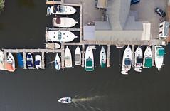 Slip Away Cove (Paladin27) Tags: southhaven michigan unitedstates us phantom4 djiphantom quadcopter aerialphotography fromabove from above boat boats boating marina marine marinalife life sailboat river blackriver slipawaycove