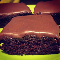 Zucchini Brownies ..... (steamboatwillie33) Tags: baked bars zucchini chocolate frosted homemade 2016 kitchen dessert snack food