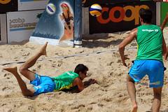 GO4G6487_R.Varadi_R.Varadi (Robi33) Tags: action ball beachvolleyball court block international play sand victory game player sport summer competition show umpire viewers basel switzerland