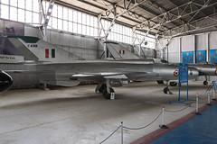 Mikoyan-Gurevich MiG-21FL - 2 (NickJ 1972) Tags: indian air force museum palam af delhi india mikoyan gurevich mig21 fishbed c499