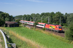 wb_100709_31 (Prefektionist) Tags: eisenbahn bahn railway rail railroad train trains westbahn sterreich austria bb oebb niedersterreich loweraustria nikon d700 siemens es64 taurus 1116 gysev raaberbahn roeee ybbsanderdonau aigen