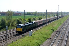 87002 aa Marholm 150516 D Wetherall (MrDeltic15) Tags: gbrailfreight class87 caledonian 87002 footex ecml marholm