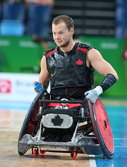 Matthew Murnaghan:Canadian Paralympic Committee-sept201691857 (Wilson School of Design at KPU) Tags: wheelchair rugby men paralympic games riodejanerio brazil