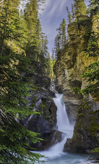 Lower Falls at Johnston Canyon (owenweberlive) Tags: johnstoncanyon banff waterfall longexposure hdr canada rockies canadian