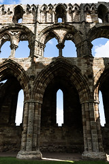 arches (pamelaadam) Tags: geolat54488357 geolon0607733 thebiggetgroup fotolog digital building abbey kirk august summer 2016 hospital2016 faith spirituality whitbyabbey engerlandshire