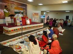 Swami Shri Gyananand Ji Maharaj in Leicester 2016 (kiranparmar1) Tags: swami shri gyananand ji maharaj leicester 2016