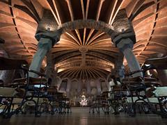 Gaudi Crypt - Colonia Gell (8ware) Tags:   fr m43 spain barcelona travel gaudi espaa
