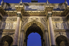 Detail of Arc de Triomphe du Carrousel, Paris