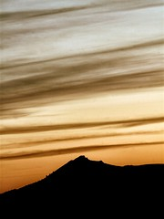 Bennachie (PeskyMesky) Tags: bennachie aberdeenshire aberdeen scotland sunset sunrise mountain sky flickr silhouette canon canoneos500d