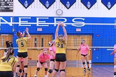 IMG_9943 (SJH Foto) Tags: girls volleyball high school lampeterstrasburg lampeter strasburg solanco team tween teen east teenager varsity net battle spike block action shot jump midair
