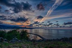 DSC_8085_HDR (alizaferdalar) Tags: nikon d5200 clouds sunset tokina 1120mm giresun castleview landscape