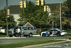 DSC_0010_Enhanced 2 (playjust) Tags: traffic crash policecar green greengrass people yellow blue white