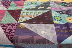 IMG_9832 (Cecca W) Tags: patchwork quilt wip workinprogress sewing spoonflower myfabric patterndesign patterndesigner quilting triangles purple ceccadesigns textiledesign fabric babyquilt patchworkquilt