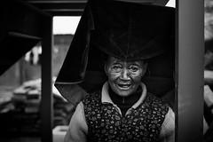 Essence carriers~ Shangrila (~mimo~) Tags: blackandwhite headdress old woman asia china mimokhairphotography minority mountain photography shangrila tibet tibetan yunnan