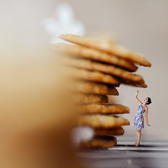 87/365 I want that cookie (itskatrinayu) Tags: cookie cookies food miniature borrowers conceptual tiny foodporn surreal tinypeople self portrait 365 project