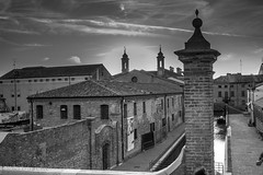Comacchio (paolotrapella) Tags: bw comacchio bianco nero paesi borghi