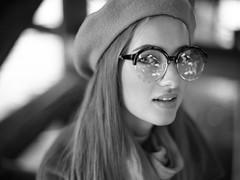 Ilona (Anton_Kicker) Tags: contax 645 bw portrait film medium format hp5 ilford