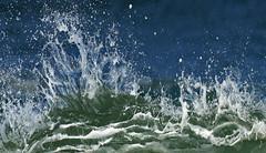 Made by the sea (Ciceruacchio) Tags: sea mer mare ocean ocan oceano littoral rivage shore wave vague onda water eau acqua breakingwave vaguedferlante ondadirottura crystal cristal cristallo atlanticcoast cteatlantique costaatlantica aquitaine aquitania gironde hourtin mdoc france francia frankreich nikond750