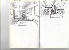 Croquis 1 6 (Andrs Goi :: www.andresgoni.cl) Tags: sketch croquis dibujo arquitectura lapiz mano handwrite architecture europa inglaterra england london train tren italy italia florencia firenze sienna